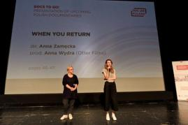 "Anna Wydra (Otter Films), Anna Zamęcka - ""When you return"""