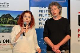 "Aneta Zagórska (Cracow Film Society), Marek Gajczak - ""Jarocin -  the rise of freedom"""