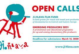 NABÓR NA JI.HLAVA FILM FUND I EMERGING PRODUCERS 2021