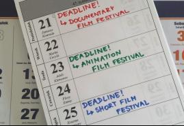 DEADLINE W GRUDNIU, CZYLI NA JAKI FESTIWAL ZGŁOSIĆ FILM KRÓTKOMETRAŻOWY