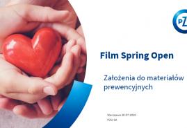 RUSZA KONKURS FILM SPRING OPEN I PZU