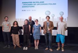 ANIMATED IN POLAND - PITCHING NA 57. KRAKOWSKIM FESTIWALU FILMOWYM !