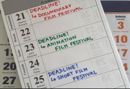 DEADLINE W MARCU, CZYLI NA JAKI FESTIWAL ZGŁOSIĆ FILM KRÓTKOMETRAŻOWY