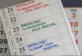 DEADLINE W LUTYM, CZYLI NA JAKI FESTIWAL ZGŁOSIĆ FILM KRÓTKOMETRAŻOWY