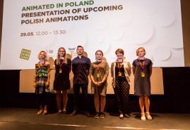 """NABÓR PROJEKTÓW NA """"ANIMATED IN POLAND"""" PODCZAS 59. KRAKOWSKIEGO FESTIWALU FILMOWEGO"""